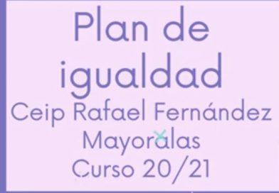 Plan Igualdad 2020-2021. Resumen de actividades.