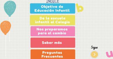 !Comenzamos al cole! Inicio de la escolarización y tránsito a primaria.